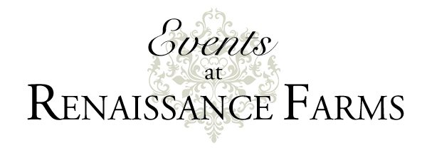Events at Renaissance Farms